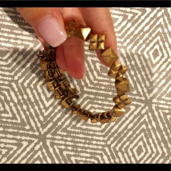 Alex and Ani Jewelry - Alex and Ani gold wrap bracelet